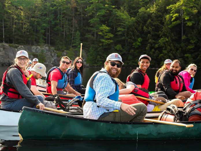 Camp Startup will inspire 20 young entrepreneurs and take them out of their comfort zone from September 14th to September 16th, 2018 at Camp Kawartha, located on Clear Lake 30 kilometres north of Peterborough. THe weekend bootcamp features business planning workshops, team-building exercises, networking opportunities, canoeing, archery, and more. All costs for participants are covered by FastStart Peterborough, a partnership between Trent University, Fleming College and the Innovation Cluster. Applications for this unique adventure are now open until Thursday, July 26th. (Photo: Samantha Moss)