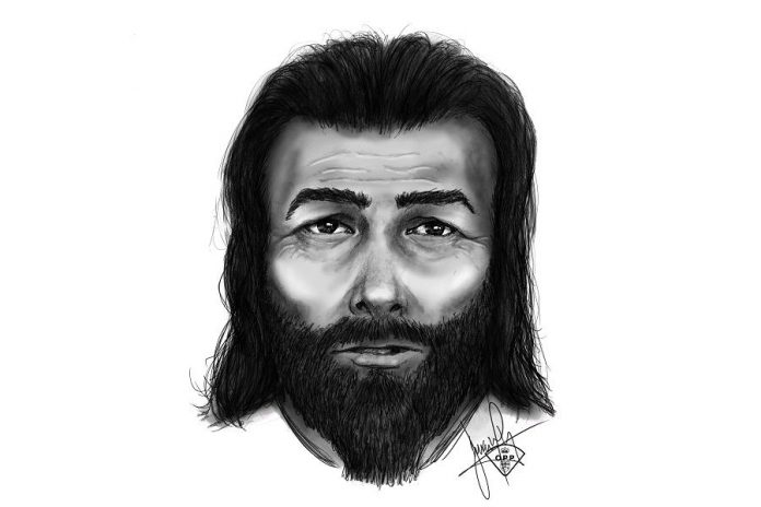 A composite sketch of a man wanted for an alleged sexual assault and robbery near Bobcaygeon on May 17, 2018. (Graphic: Ontario Provincial Police)