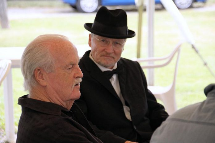 "Ian McLachlan co-wrote ""Crow Hill: The Telephone Play"" with Robert Winslow, who performs in the play as Doc Logie. The pair have written six plays together. (Photo: Jeannine Taylor / kawarthaNOW.com)"