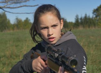 """Filmmaker Adriano Ferreri's daughter Rosa plays the lead role of Niamh in Adriano's first feature film """"E.M.P. 333 Days"""", a thriller about what happens after an electromagnetic pulse sends North America into anarchy. Almost three years in the making, the film premieres in Peterborough on June 28, 2018 with an exclusive screening at Galaxy Cinemas. (Photo: Ferreri Films)"""
