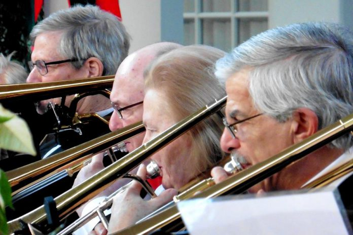 The L'll Big Band is performing at Cenotaph Park in Lakefield. (Photo: The L'll Big Band)
