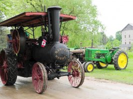 Take Dad to the 22nd annual Father's Day Smoke & Steam Show on Sunday, June 17th at Lang Pioneer Village in Keene. (Photo: Lang Pioneer Village)