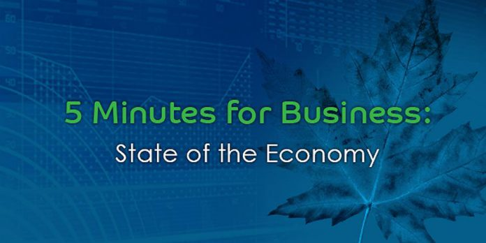 Five Minutes For Business: State Of The Economy