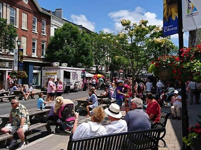 This year's Cobourg Food and Music Festival on July 6, 2018, will be larger than last year's, with a special section dedicated to treats and desserts. (Photo: Cobourg DBIA)