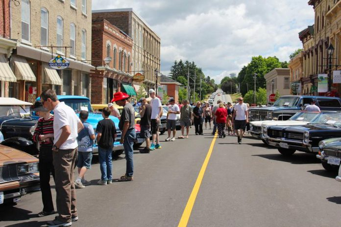 Dozens of classic vehicles on display when the popular Millbrook Classic Car Show returns to downtown Millbrook on Saturday, July 7th from 8 a.m. to 2 p.m.