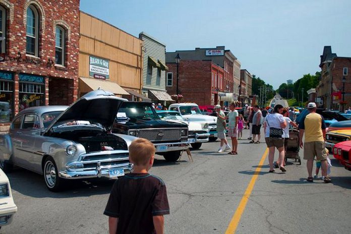 The Millbrook Classic Car Show is also a big day for local merchants, with shops and restaurants open in downtown Millbrook to serve the crowds.