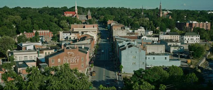 "Port Hope as the fictional town of Derry in the 2017 thriller film ""It"". (Photo: Warner Bros. Pictures)"