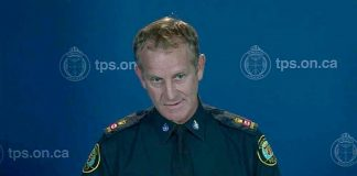 Scott Gilbert of the Toronto Police Service is Peterborough's new Chief of Police. (Photo: CityNews Toronto)