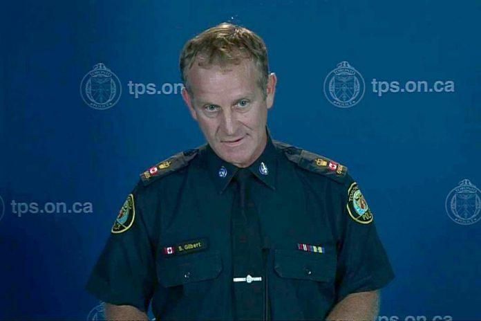 Scott Gilbert of the Toronto Police Service is Peterborough's new Chief of Police. (Photo: CityNews Toronto)