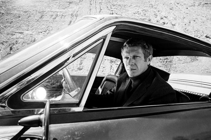 "The 1968 film ""Bullitt"" starring Steve McQueen is recalled today mainly for its iconic car chase, a 10-minute masterpiece shot in and around San Francisco and featuring a souped-up Highland Green 1968 Ford Mustang 390 GT 2+2 Fastback chasing a 1968 Dodge Charger 440 Magnum. (Photo; Warner Bros)"