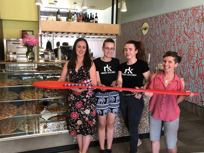 The Night Kitchen pizzeria, which moved down the street to its new location on Hunter Street West last summer, is rejoining this year's Paint The Town Red fundraiser.  (Photo courtesy of United Way of Peterborough and District)