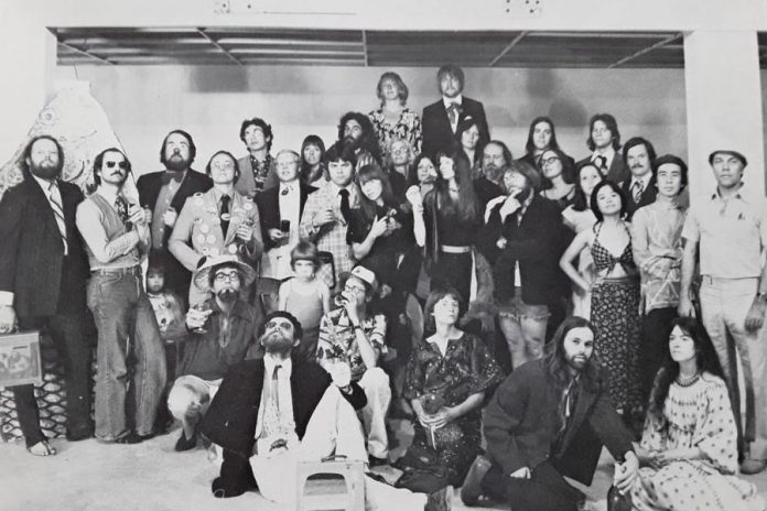 Artist Joe Stable, who was curator of Artpsace in 1974, also shared this 1977 photo of Artspace on Facebook.