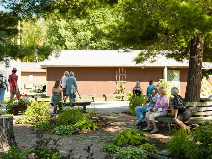 The Buckhorn Fine Art Festival takes place at the beautiful Festival Park at Buckhorn Community Centre, located at 1782 Lakehurst Road in Buckhorn. (Photo courtesy of Buckhorn Fine Art Festival)