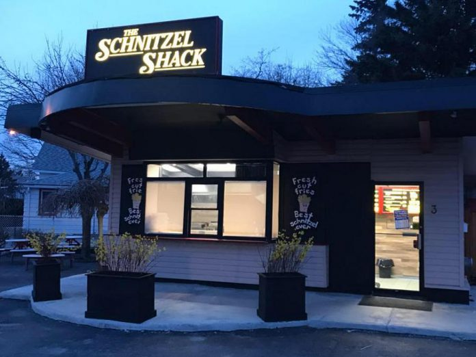 The Schnitzel Shack is now open at 3 Toronto Road in Port Hope. (Photo: The Schnitzel Shack)