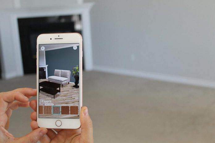 Kavtek has developed an augmented reality app for real estate agents and their clients to assist in home remodelling. (Photo courtesy of the Innovation Cluster)