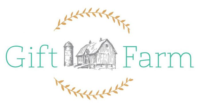Karly Bradford's new online business is called Gift Farm. (Graphic: giftfarm.ca)