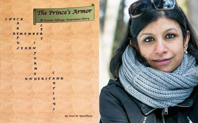 """The Prince's Armor - A Peanut Allergy Awareness Story"" is a children's book by Peterborough resident Koel M. Upadhyay. (Photos courtesy of the author)"
