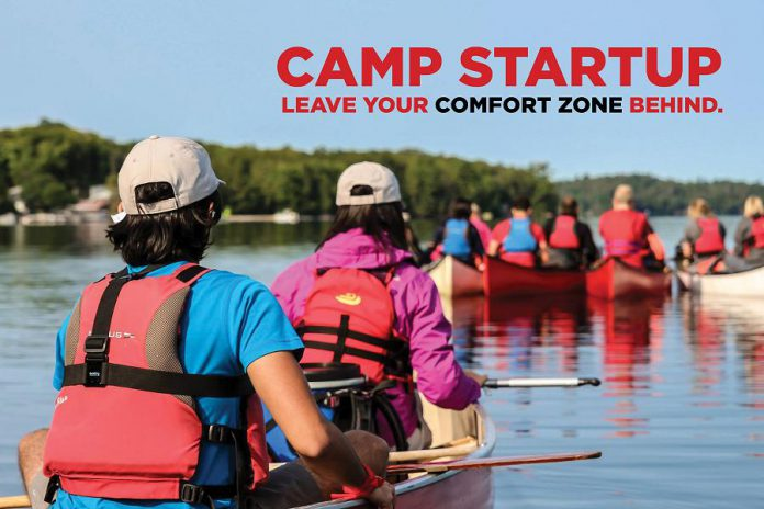 Camp Startup will take place in September at Camp Kawartha. (Graphic: FastStart Peterborough)Camp Startup