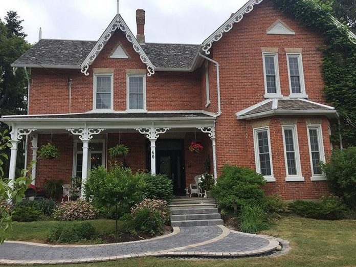 Owned and operated by Brian and Kate (Segriff) Field, Field Day Bed and Breakfast is located in the  Robert Amrstrong Heritage Home in Millbrook. (Photo: Field Day Art)