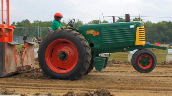 A truck and tractor pull takes place on Sunday during the Ennismore Shamrock Festival. (Photo: Township of Selwyn)