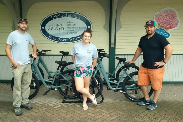 You can now rent bicycles at the Lakefield Marina. (Photo: Township of Selwyn)