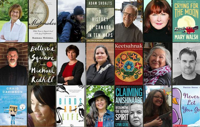 Some of the authors who are coming to the Lakefield Literary Festival from July 13 to 15, 2018.