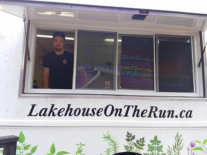 Lakehouse on the Run chef and co-owner Shaun Zoernack had always dreamed of opening a food truck. He and co-owner Carly O'Neill decided to make it happen when the lease wasn't renewed on their Bancroft-area restaurant. (Photo: Lakehouse on the Run)