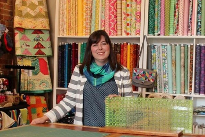 """Ladies' Night brings the Millbrook community together"", says Kate DeKlerck, who owns The Quilter's Bolt in downtown Millbrook and is one of the organizers of this year's event.  (Photo: The Quilter's Bolt)"