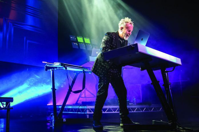 British singer-songwriter and synth-pop pioneer Howard Jones, who had a string of hits in the 1980s, will be performing a free concert with his electric band at Peterborough Musicfest in Del Crary Park on Saturday, July 14, 2018. (Photo: Will Stead)