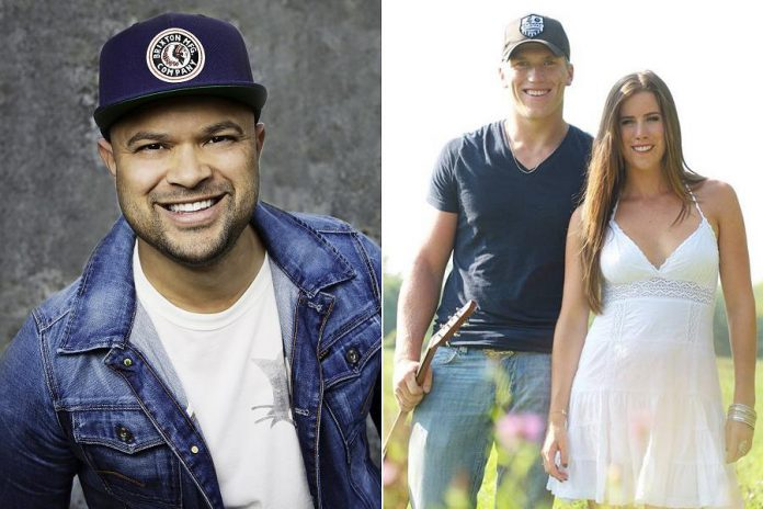 New country musician Tebey with brother-and-sister duo The Recklaws are performing a free concert at Peterborough Musicfest in Del Crary Park in Peterborough on Saturday, July 28, 2018. (Publicity photos)