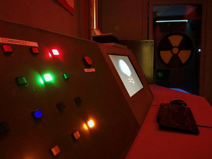 Find out if you have what it takes to save humanity from nuclear Armageddon in the Judgment Day escape room at Lift Lock Escape. The new entertainment business in downtown Peterborough, which also offers virtual reality gaming and a board game cafe, has its grand opening on August 21, 2018. (Photo: Lift Lock Escape)