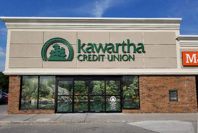 The Chemong Road branch of Kawartha Credit Union. (Photo courtesy of  Kawartha Credit Union)