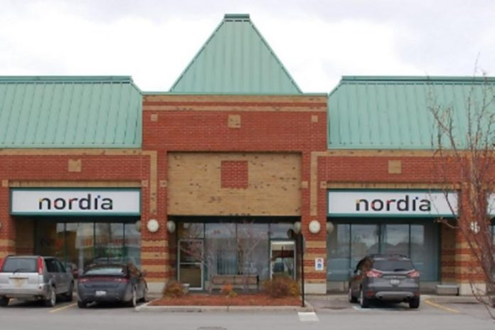 The Nordia call centre located at the Whitney Town Centre on Kent Street in Lindsay. (Photo: Nordia)