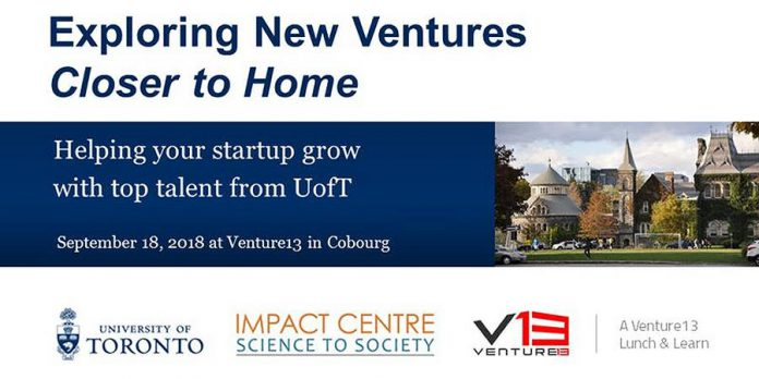 Exploring New Ventures Closer to Home: Helping your Startup grow with top talent from UofT