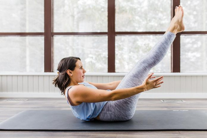 Certified Pilates instructor Jessica Dalliday has launched Pilates on Demand, a website that provides online Pilates sessions. (Photo courtesy of the Innovation Cluster)
