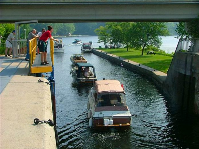 "The ""Boating 2: Beyond The Basics"" course also includes information on how to navigate through the locks on the Trent-Severn Waterway.  (Photo courtesy of Peterborough Power and Sail Squadron)"