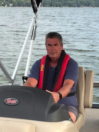 "Peterborough Power and Sail Squadron commander Nick Cliteur who, along with other squadron members, is an instructor of the ""Boating 2: Beyond The Basics"" course.  (Photo courtesy of Peterborough Power and Sail Squadron)"