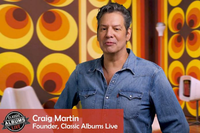 Craig Martin, musician and founder of Classic Albums Live, plays rhythm guitar for the CCR Chronicle, Vol. 1 concerts. (Photo: Classic Albums Live)