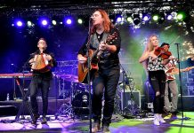 Alan Doyle, pictured here with his band at the 2017 Blacksheep Festival in Germany, performs a free concert at Peterborough Musicfest in Del Crary Park in Peterborough on August 8, 2018. (Photo: Ralf Schulze / rs-foto.de)