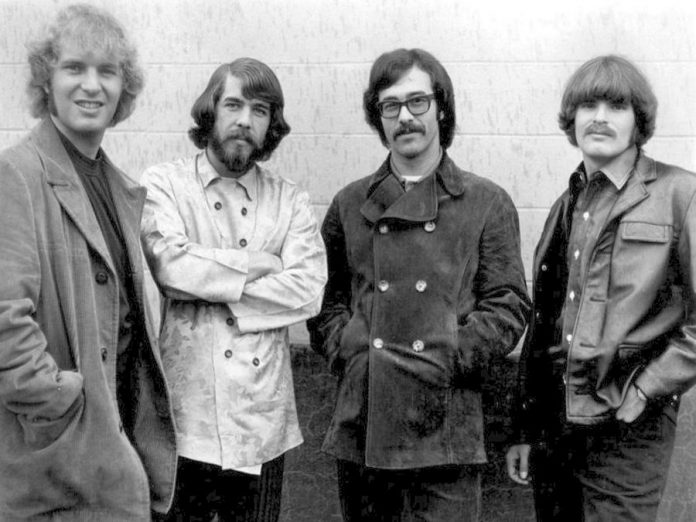 "Creedence Clearwater Revival (Tom Fogerty, Doug Clifford, Stu Cook, and John Fogerty) at the height of their success in 1968. Classic Albums Live will perform a note-for-note recreation of the band's greatest hits album ""Chronicle, Vol. 1"" at a free concert at Peterborough Musicfest on Saturday, August 25th, the final concert of the 2018 season. (Photo: public domain)"