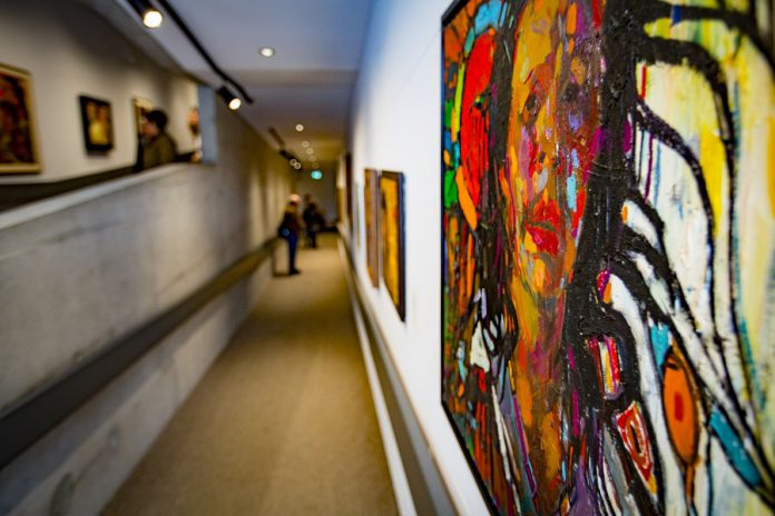 The Art Gallery of Peterborough offers regular exhibitions throughout the year, including works from its 1,400 item permanent collection featuring both Canadian and Indigenous artists.