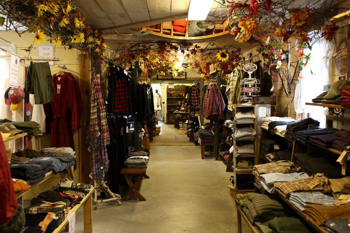 Lockside Trading Company in Young's Point has more than 7,000 square feet of cottage and country items and attracts more than 100,000 visitors every year.