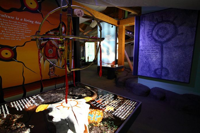 At The Learning Place Visitor Centre at Petroglyphs Provincial Park in Woodview, you can learn more about the over 900 petroglyphs and the traditions and culture of the Indigenous inhabitants who carved them.