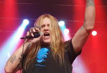 Sebastian Bach performing in Moncton in July 2018. The Peterborough native will perform in his hometown for the first time in 28 years on November 17, 2018. (Photo: Stephen Murphy / YouTube)