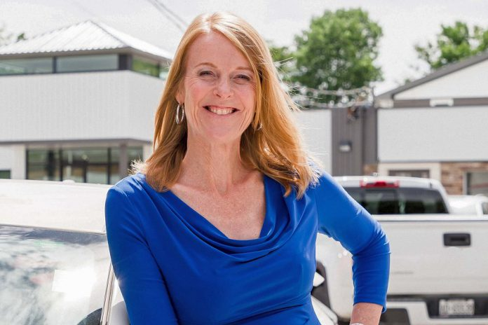 One of the members of the Women's Business Network of Peterborough who was recognized in 2018 for her accomplishments is Monika Carmichael, dealer principal and general manager of Trent Valley Honda. Monika was inducted into the 2018 Junior Achievement Business Hall of Fame on May 24, 2018. The annual ceremony honours the business achievements of local entrepreneurs past and present. (Photo: Heather Doughty)