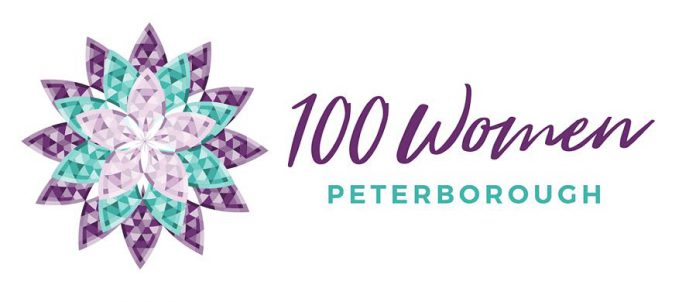 Catia Skinner is a founding member of 100 Women Peterborough, along with Wendy Hill, Alyssa Stewart, and Rosalea Terry. At each meeting the group collects $100 from each of its members and donates $10,000 to a local charity or not-for-profit organization. (Supplied graphic)