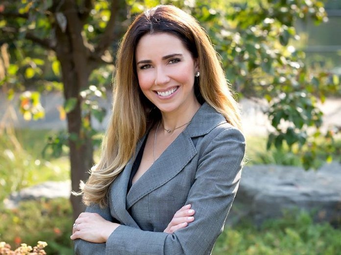 Catia Skinner is CEO of The Venue, the downtown Peterborough location for hosting events, and the owner and CEO at Mega Experience, a full-service marketing agency that specializes in brand experience. The native of Brazil, who has built her life and business in Peterborough over the past nine years, recently became a Canadian citizen. (Supplied photo)