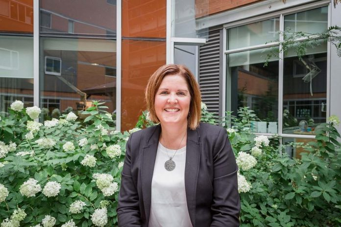 In her role as President and CEO of the Peterborough Regional Health Centre Foundation, Lesley Heighway leads team of professionals and volunteers who have raised between $5 and $7 million every year for the hospital. (Photo: Heather Doughty)