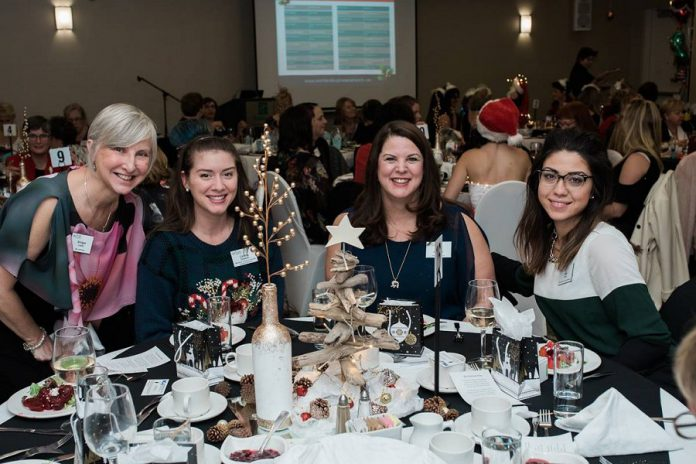 WBN meetings allow you to connect with different women each month at your dinner table. The WBN facilitator at the table will lead the discussion and ensure everyone has an opportunity to introduce themselves. (Photo: WBN)