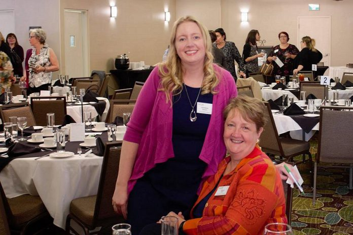 The Women's Business of Network of Peterborough has made recruiting and retaining younger members a key strategy for the organization. Christine Teixeira, one of the most recent generation of WBN members, is pictured with her mother Diane Wolf. Both women are serving on the 2018-2019 board of directors, a first in the board's history. (Photo: WBN)